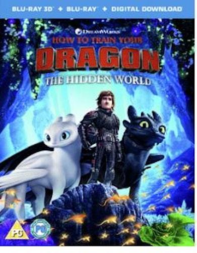 Draktränaren 3 2D + 3D Blu-Ray (import)