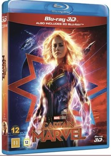 Captain Marvel (3D) (2-disc)