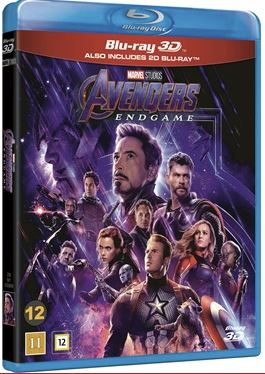 Avengers Endgame (3D) (3-disc) bluray