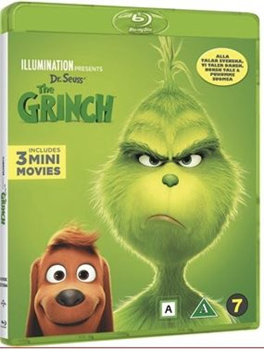 Grinchen 2018 bluray