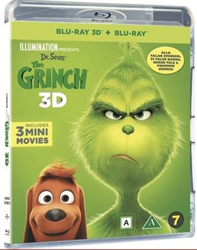 Grinchen (3D) (2-disc) bluray