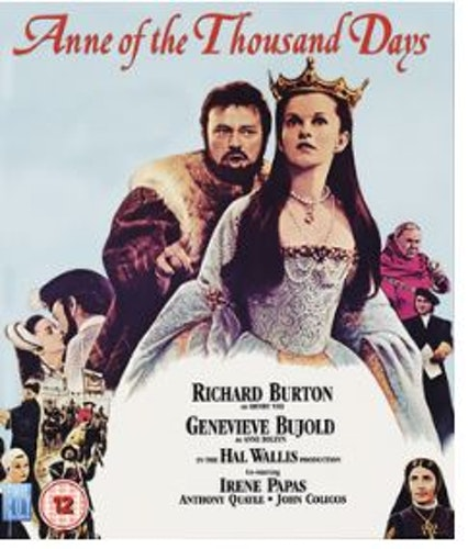 Anne Of The Thousand Days bluray (import)