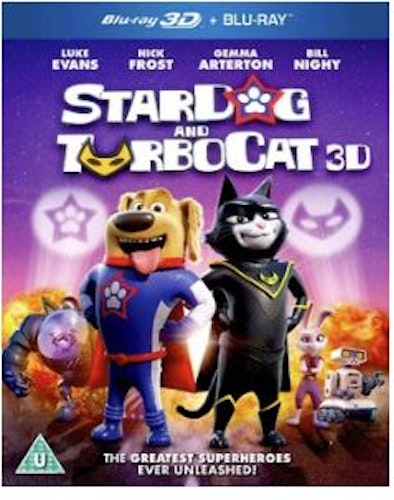 StarDog And TurboCat 3D+2D bluray (import)