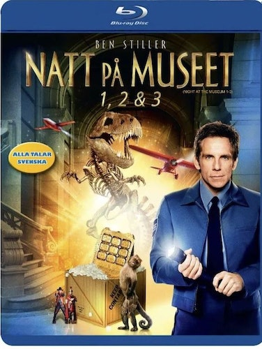 Natt På Museet 1-3 (3-disc) Box bluray