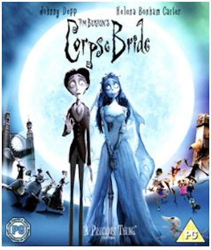 Corpse Bride bluray (import)