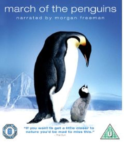 March Of The Penguins bluray (import)
