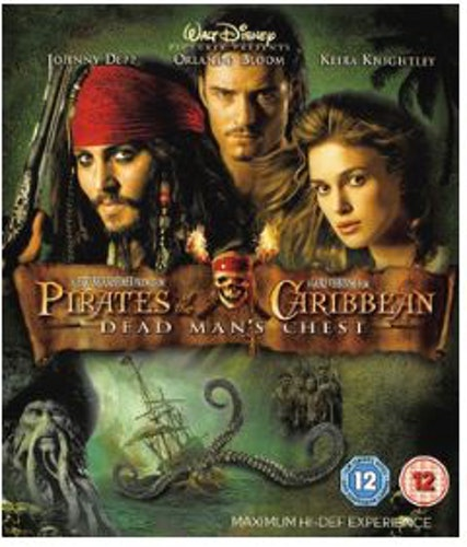 Pirates Of The Caribbean - Död mans kista bluray (import)