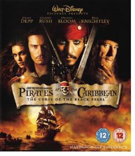 Pirates of the Caribbean - Svarta Pärlans förbannelse bluray (import)