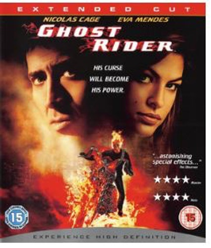 Ghost Rider - Extended Cut bluray (import)