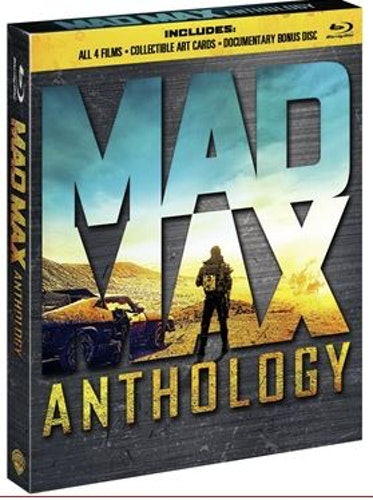 Mad Max Fury Road Anthology (bluray)