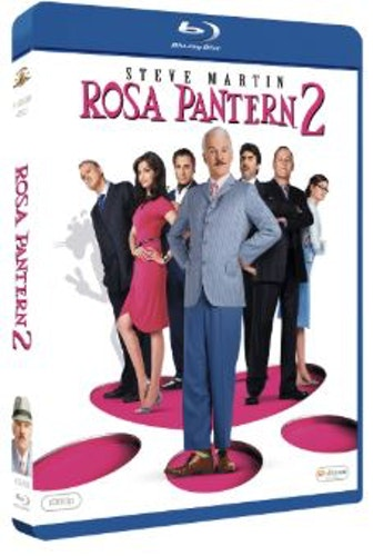 Rosa pantern 2 (bluray) import med Sv text
