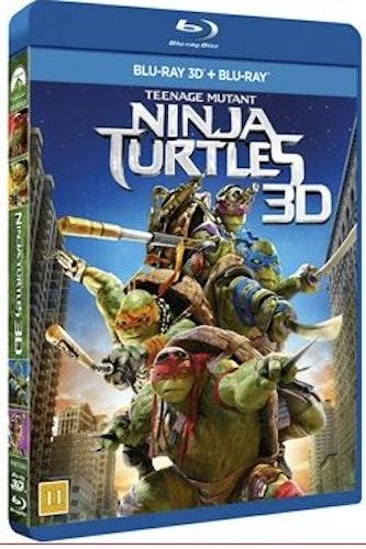 TMNT - Teenage Mutant Ninja Turtles 3D+2D (bluray)