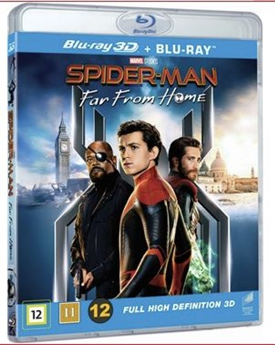 Spiderman - Far From Home 3D (bluray)