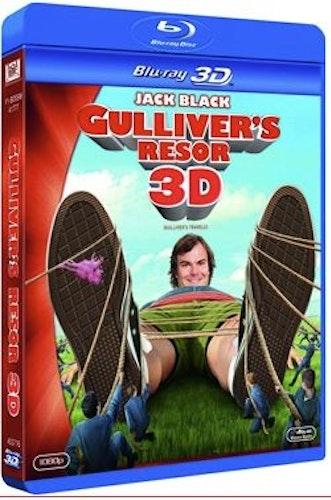 Gullivers resor 3D (bluray)