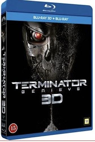 Terminator Genisys 3D bluray