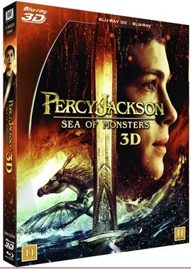 Percy Jackson: Monsterhavet (3D Blu-ray + Blu-ray)