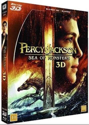 Percy Jackson: Monsterhavet (3D Blu-ray + Blu-ray)