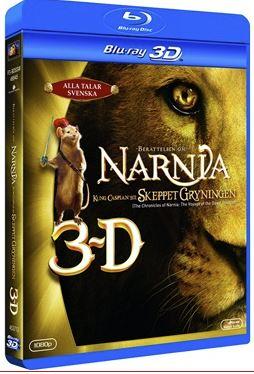 Berättelsen Om Narnia: Kung Caspian Och skeppet Gryningen (3D) bluray