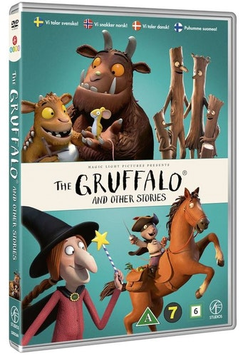 THE GRUFFALO AND OTHER STORIES (DVD)
