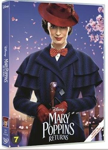 Mary Poppins kommer tillbaka 2018 DVD