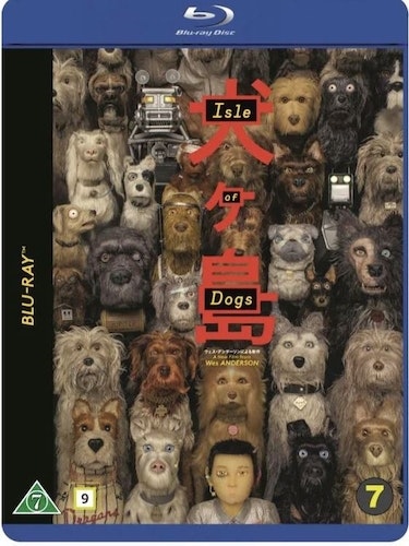 Isle of dogs (bluray)