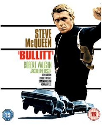 Bullitt (bluray, import med svensk text)
