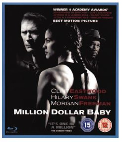 Million Dollar Baby (bluray, import)