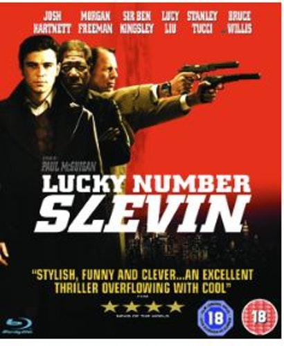 Lucky Number Slevin (bluray, import)
