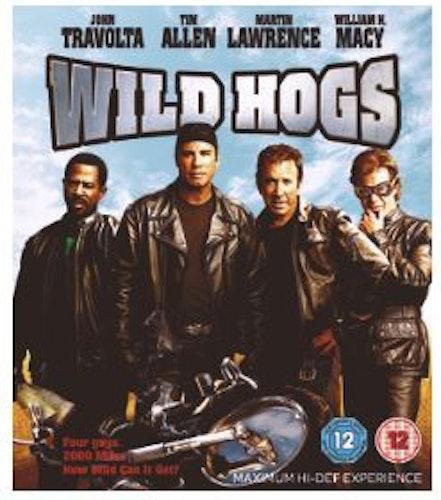 Wild Hogs (bluray, import med svensk text)
