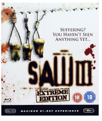Saw III - Extreme Edition (bluray, import)