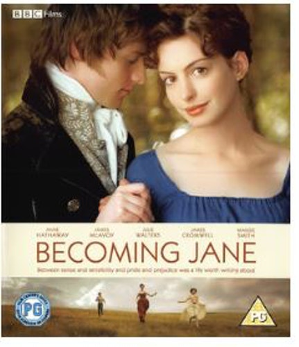 En Ung Jane Austen/becoming Jane (bluray, import)