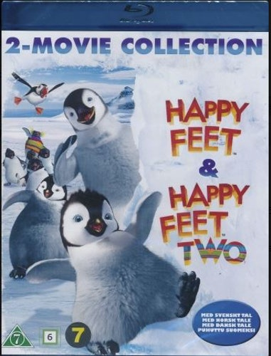 Happy Feet 1+2 (bluray)