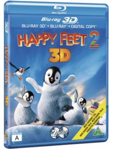 Happy Feet 2 (3D) bluray