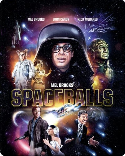 Spaceballs/det våras för rymden - Steelbook bluray (import)
