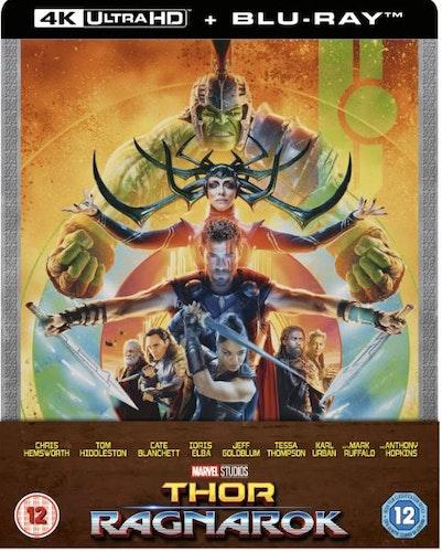 Thor Ragnarok – 4K Ultra HD (Includes 2D Blu-ray) Steelbook import med svensk text