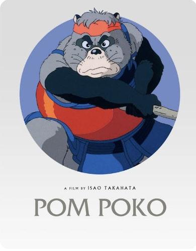 Pom Poko - Steelbook bluray (import)