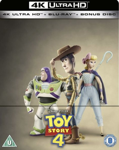Toy Story 4 - 4K Ultra HD Steelbook (Includes 2D Blu-ray) import