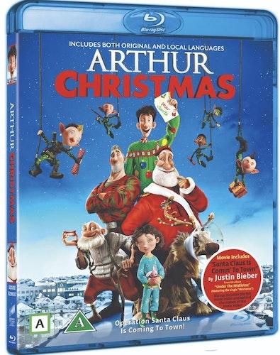 Arthur och julklappsrushen bluray