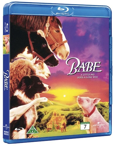 Babe 1 den modiga grisen (bluray)