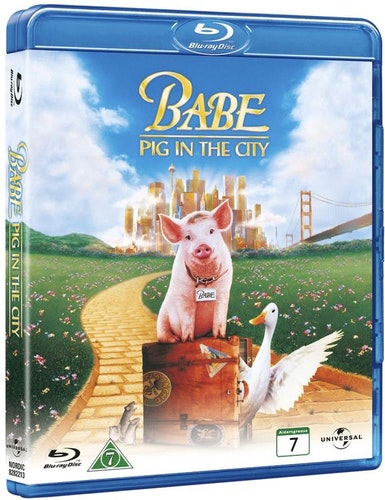 Babe 2 en gris i stan (bluray)