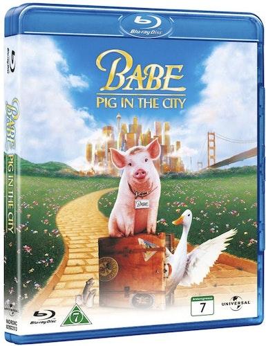 Babe 2 en gris i stan (bluray)
