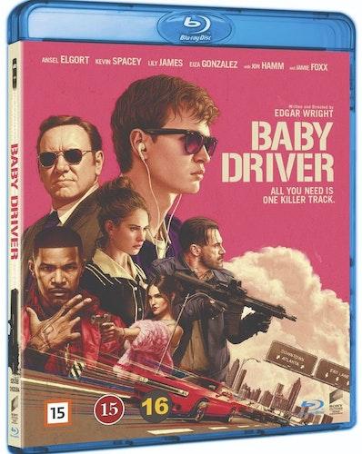 Baby driver (bluray)