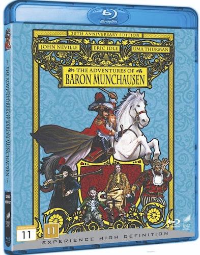 Baron Münchausens Äventyr (bluray)
