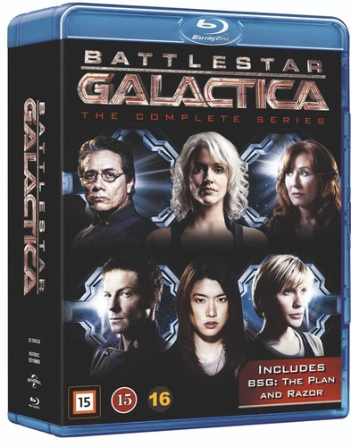 Battlestar Galactica - Complete series bluray