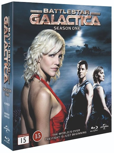BATTLESTAR GALACTICA - säsong 1 (bluray)