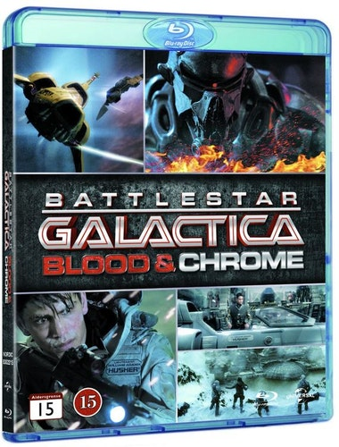 BATTLESTAR GALACTICA BLOOD & CHROME (bluray)
