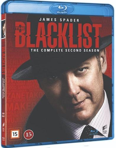 Blacklist - säsong 2 (bluray)
