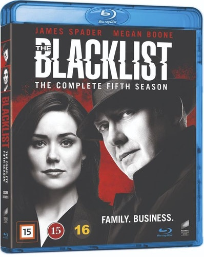 BLACKLIST - säsong 5 (bluray)