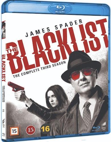 Blacklist - säsong 3 (bluray)