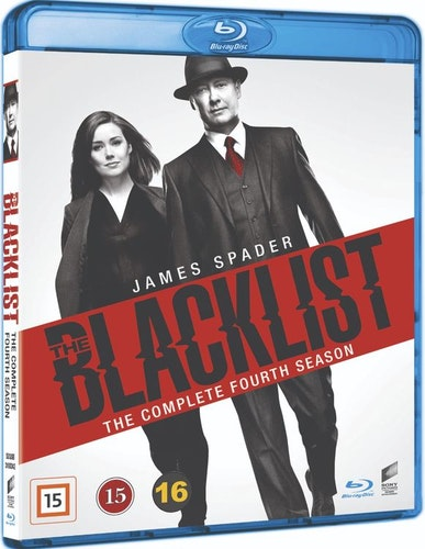 BLACKLIST - säsong 4 (bluray)